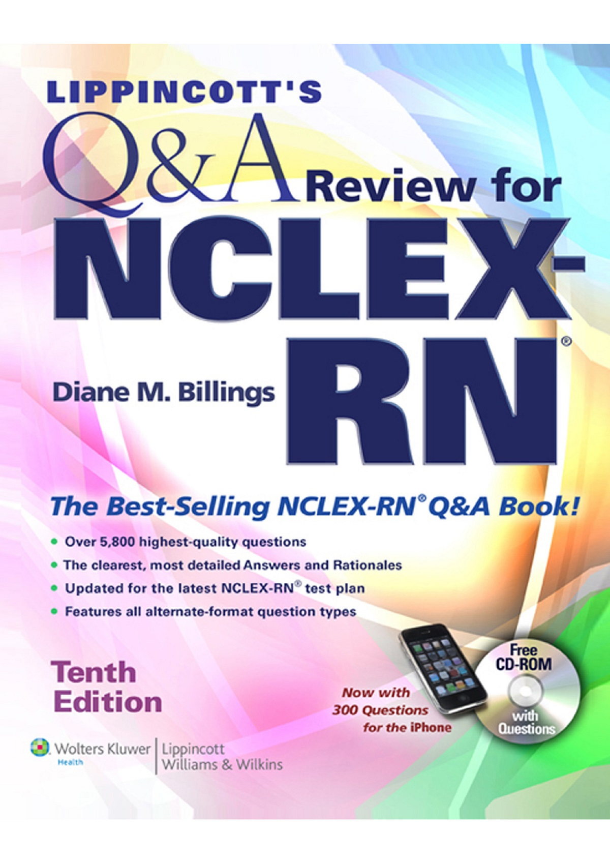 Lippincott's Q&A Review for   NCLEX-RN TENTH EDITION