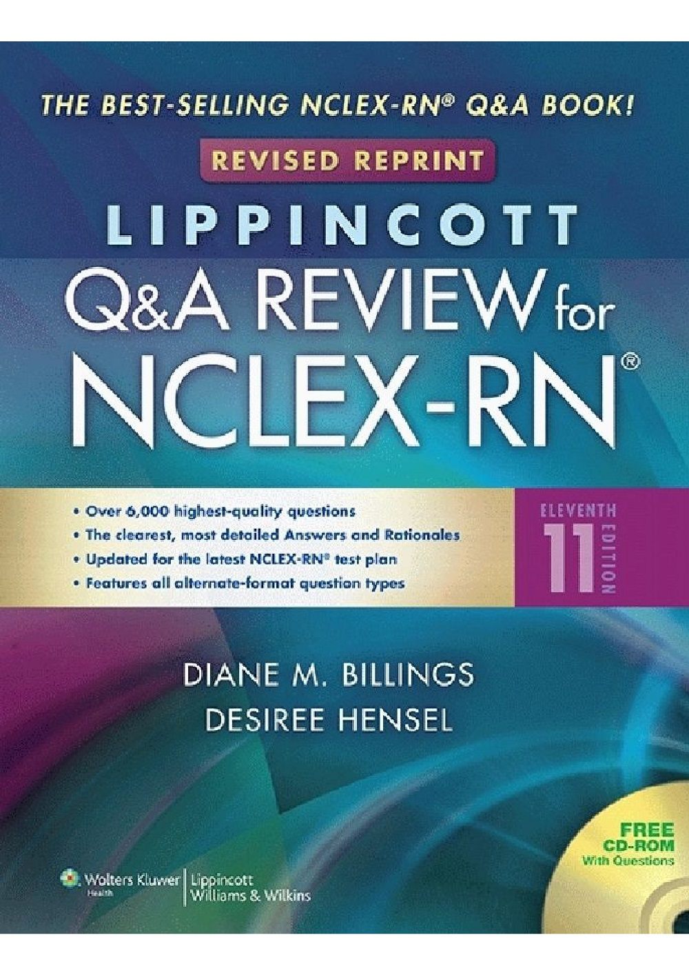 Lippincott Q&A Review for NCLEX-RN, 11th Edition 2015