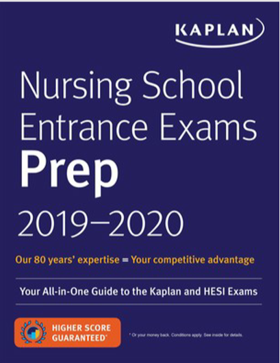 Nursing	School Entrance	Exams Prep 2019–2020